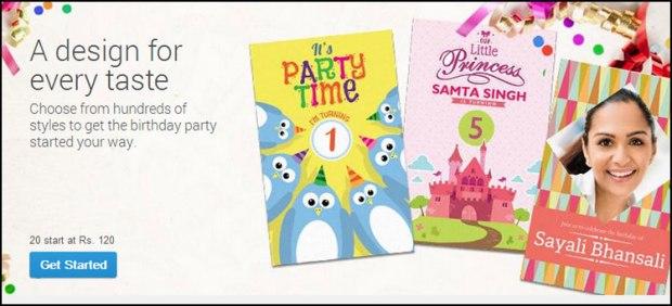 Vistaprint Birthday Invitations Offer